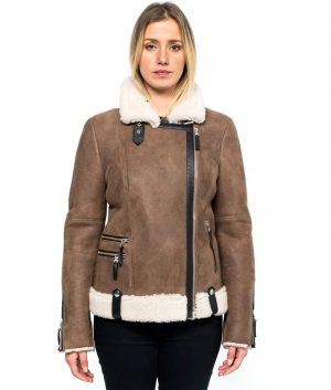 Sherry Womens Shearling Jacket