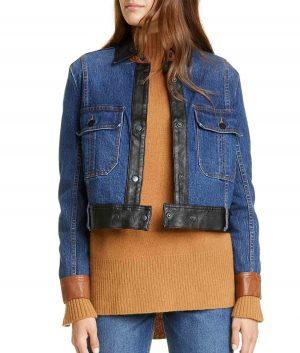 Anna Denim Womens Jacket