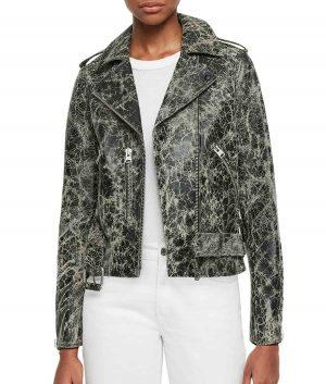 Annette Womens Moto Jacket
