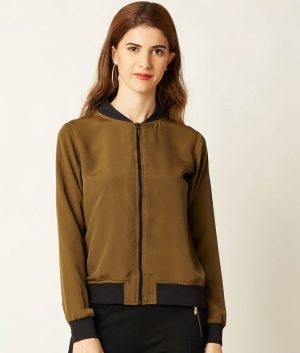April Womens Olive Green Jacket