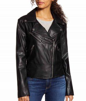 Arline Womens Moto Jacket