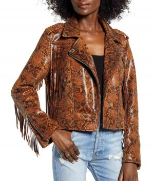 Audry Womens Leather Jacket