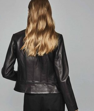Beatrice Womens Leather Jacket