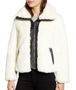 Beverly Womens Fur Jacket