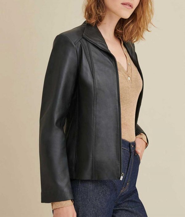 Blanche Womens Leather Jacket