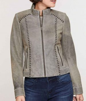 Bonnie Womens Leather Jacket