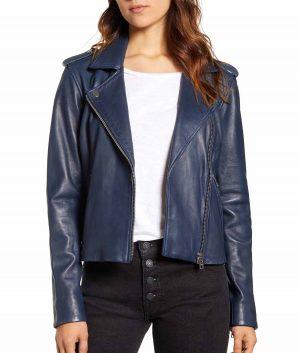 Brenda Womens Moto Jacket