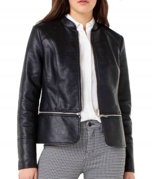 Christine Womens Leather Jacket