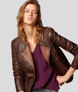 Connie Womens Leather Jacket