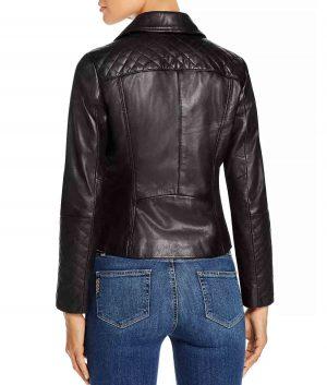 Dorothy Womens Slimfit Style Black Biker Jacket