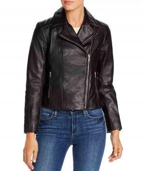 Dorothy Womens Black Biker Jacket