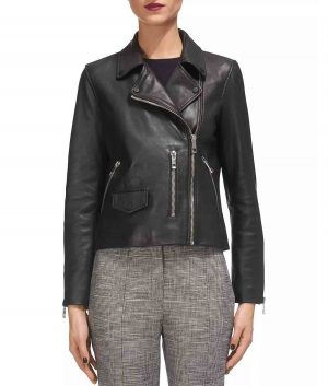 Felicia Womens Moto Jacket
