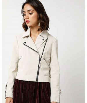 Genevieve Womens Grey Jacket