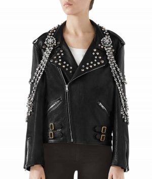 Janet Womens Black Jacket