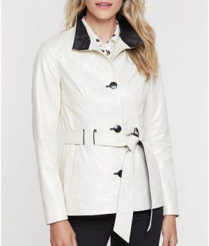 Jessica Womens Spanish Lambskin Coat