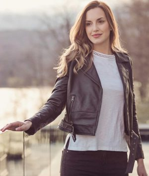 Kathleen Womens Leather Jacket