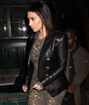 Kim Kardashian Double Breasted Blazer