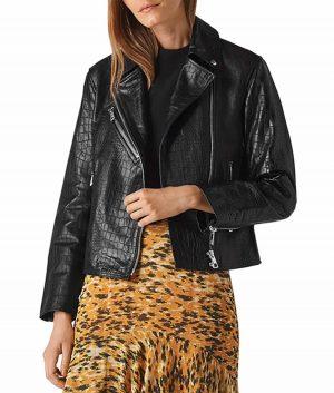 Lorenza Womens Biker Jacket
