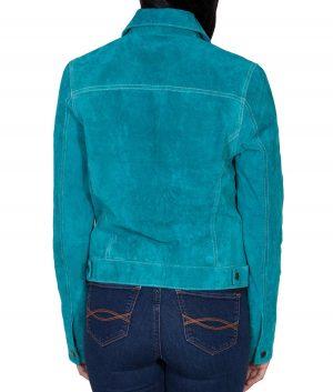 Melissa Womens Slimfit Leather Jacket