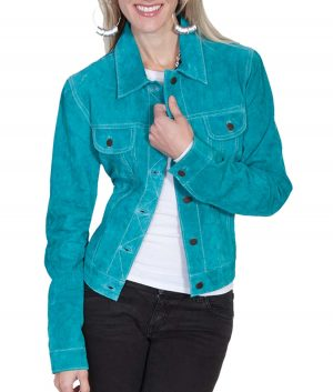 Melissa Womens Leather Jacket