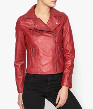 Monique Womens Biker Jacket