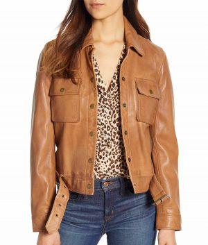 Pauline Womens Spread Collar Jacket