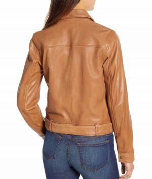 Pauline Womens Leather Jacket
