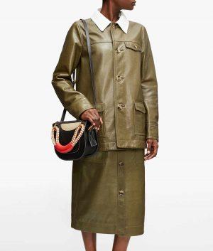 Rebecca Womens Leather Jacket