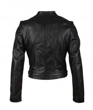 Sandra Womens Cafe Racer Jacket