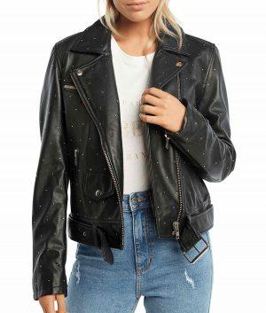 Sherri Womens Black Jacket