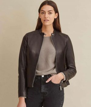 Susie Womens Leather Jacket