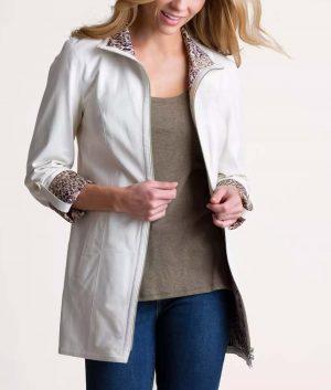Wendy Womens Reversible Coat
