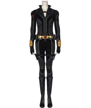 2020 Black Widow Natasha Romanoff Jumpsuit Costume