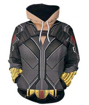 2020 Black Widow Natasha Romanoff 3D Printed Hoodie