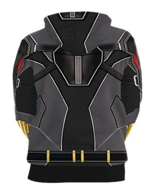 2020 Black Widow Natasha Roman Off 3D Printed Hoodie