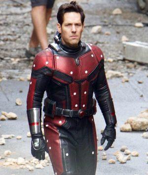 Ant Man 2 Scott Lang Leather Jacket