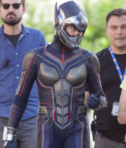 Ant-Man And The Wasp Evangeline Lilly Hope van Dyne Leather Jacket
