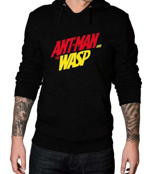 Ant Man And The Wasp Logo Black Hoodie