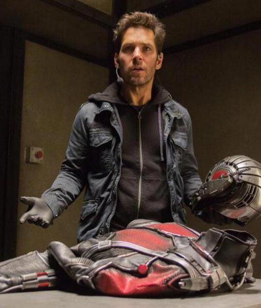 Ant Man Paul Rudd Cotton Jacket