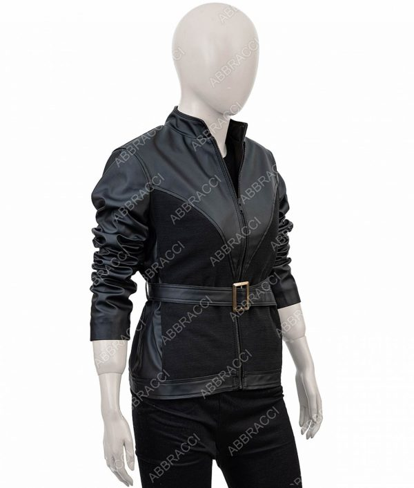 Black Widow Avengers Age Of Ultron Jacket (Free T- Shirt)