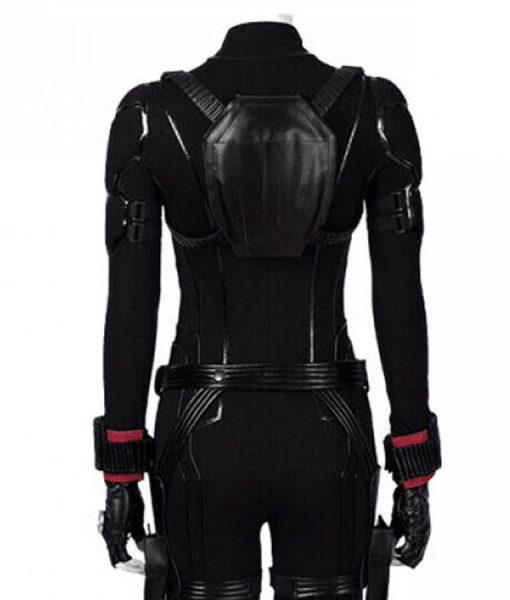 Avengers Endgame Black Widow Jacket (Free T- Shirt)