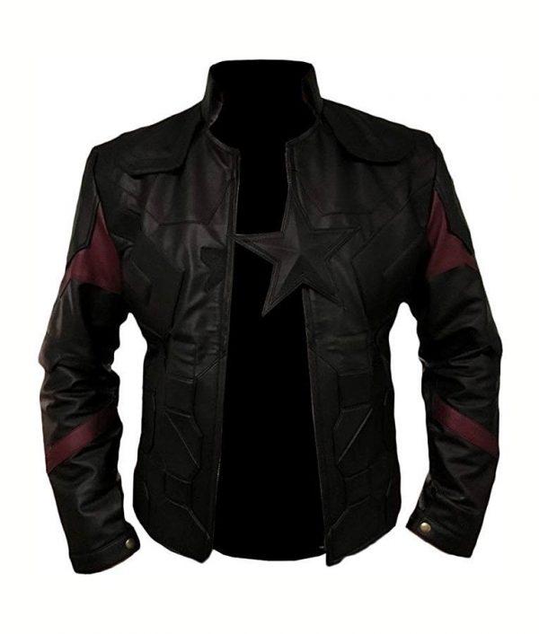 Avengers Infinity War Captain America Jacket