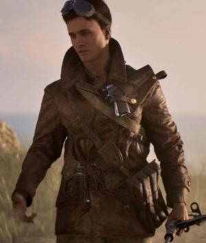 Battlefield 5 Billy Bridger Brown Jacket