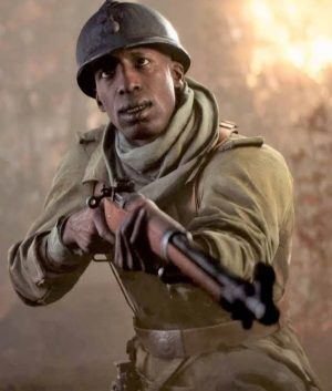 Battlefield 5 Video Game Deme Cisse Trench Coat
