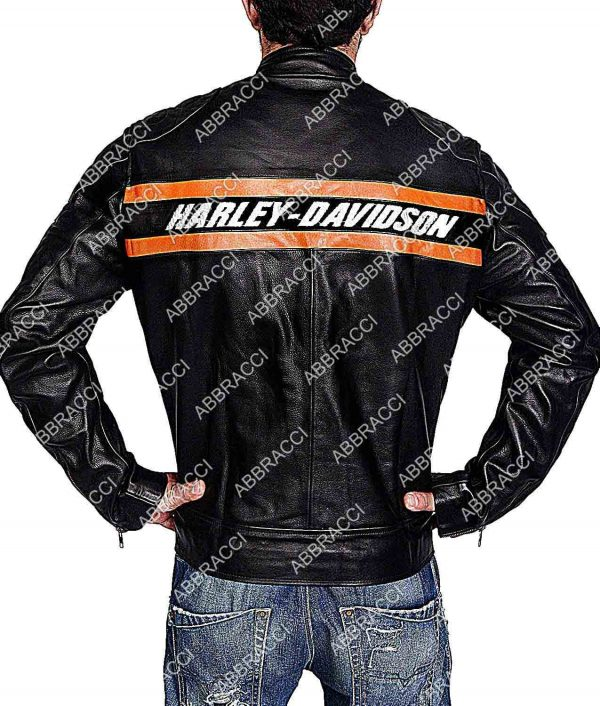 WWE Goldberg Harley Davidson Black Jacket