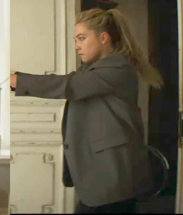 Black Widow 2020 Florence Pugh Blazer Jacket