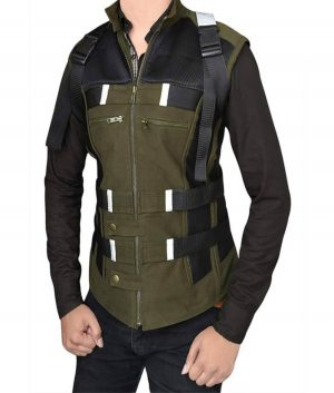 Black Widow Infinity War Leather Vest