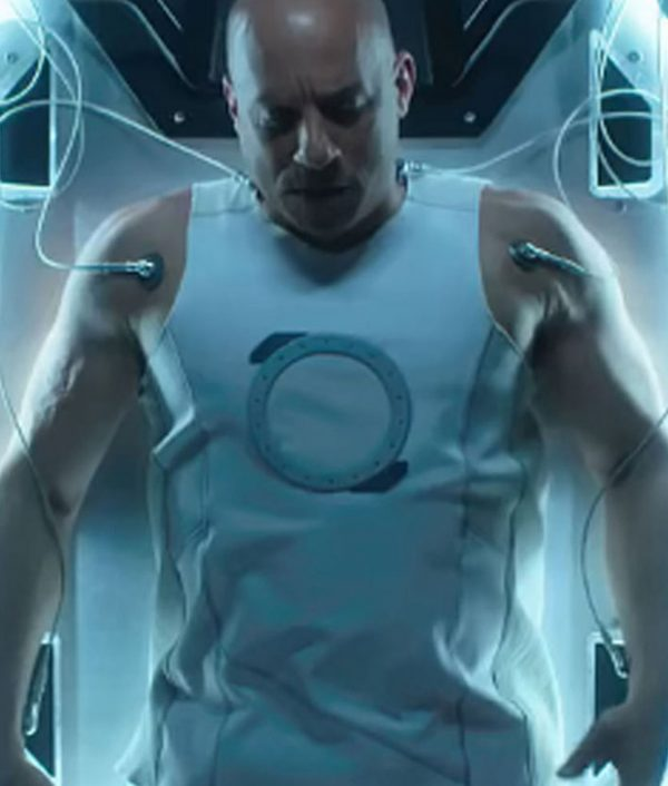 Bloodshot Vin Diesel Ray Garrison White Vest