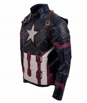 Avengers Endgame Chris Evan Captain America Jacket
