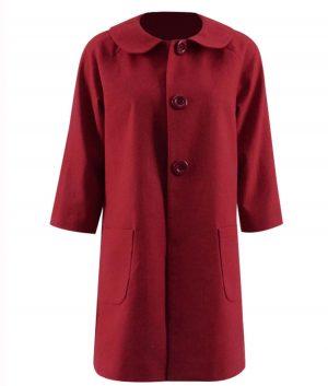 Chilling Adventures of Sabrina Kiernan Shipka Sabrina Trench Coat